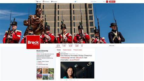 Brock Mba Ranking In Canada by Brock S Account Ranked No 1 In Canada The Brock