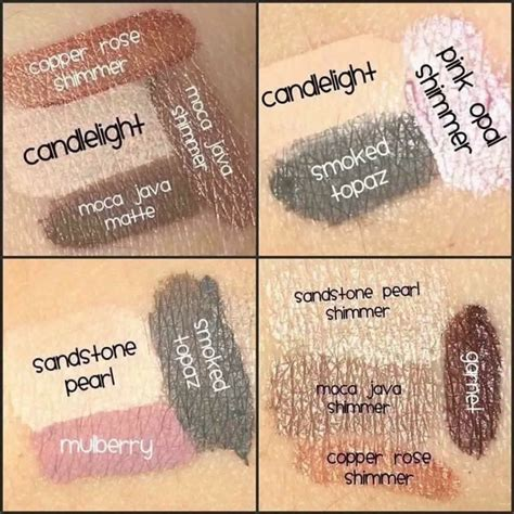 Eyeshadow Caring senegence has beautiful eye shadows that are waterproof and skin care in them www