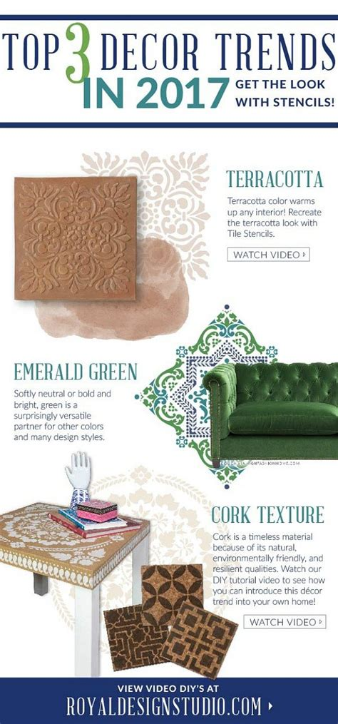 2017 decorating trends 2017 home decor trend watch cork terracotta green