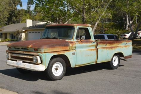 1966 chevrolet c10 fleetside bed 127 quot 292 4sp