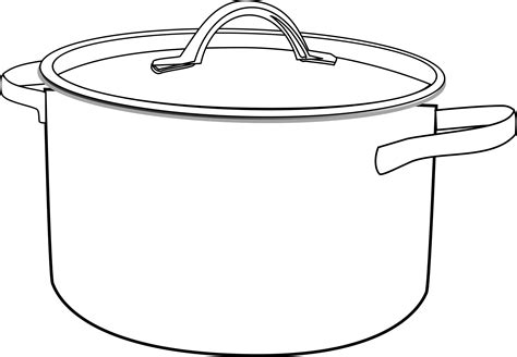 Pan Outline For L by Clipart Pan Outline