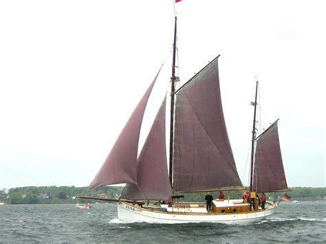 1918 traditional danish gaff ketch sail boat for sale - Ketch Boat
