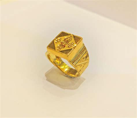 big gents finger ring slj 1398 shubhlaxmi gold jeweller