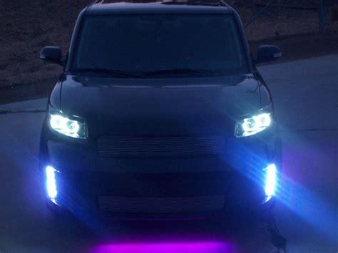 2008 scion xb lights scion xb front bumper vertical led running lights