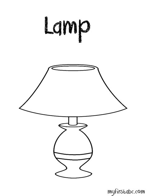 house items coloring pages l coloring page my first abc