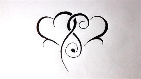 Drawing Hearts by Intertwined Hearts Www Pixshark Images Galleries