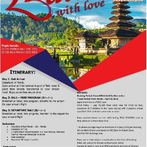 Ticket Jakarta For 2 Pax By Qatar bali indonesia package tour min of 2 pax tickets