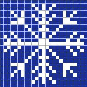 snowflake graph pattern snowflakes charts and teddy bears on pinterest