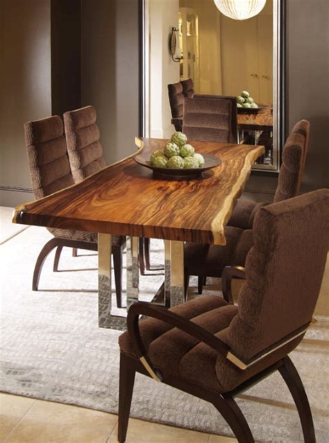 wood dining room tables a real quot solid wood quot dining table from century furniture