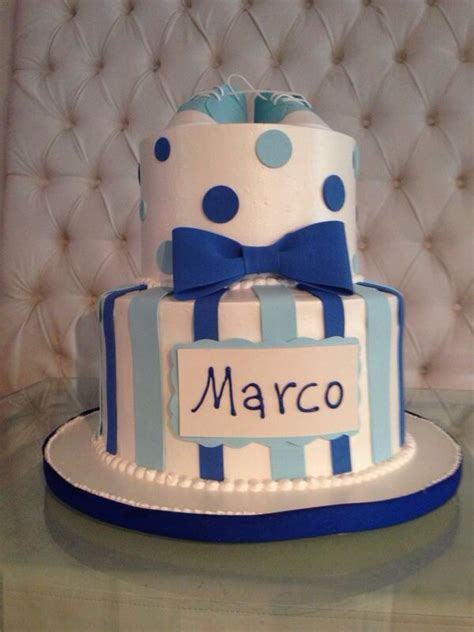 Bow Tie Baby Shower Cake by Bow Tie Baby Shower Cake Baby Shower