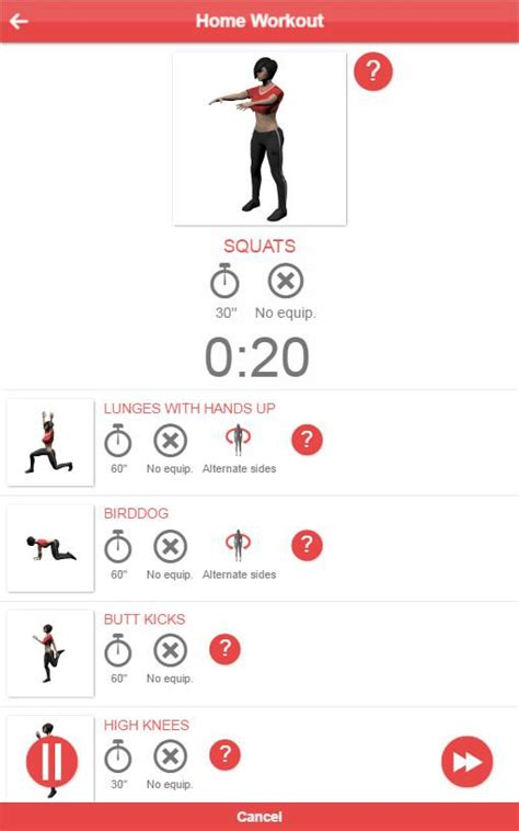 home workout android apps on play