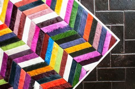 mr rugs mr crowley chevron hide rug interiors by color