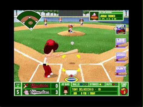 backyard baseball 2001 emulator backyard baseball pc