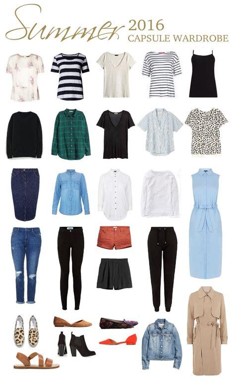 Summer Capsule Wardrobe a casual summer capsule wardrobe everyday 30