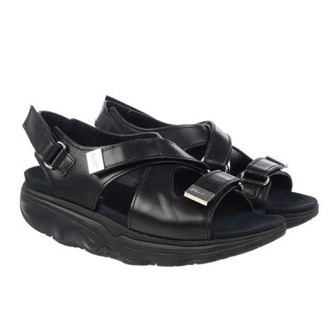 mbt sandals mbt hanuni 6 womens sandals black calf sportitude
