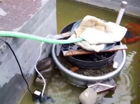 membuat filter air kolam sederhana filter kolam ikan sederhana youtube
