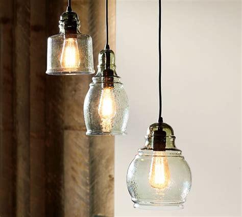 Paxton Glass 8 Light Pendant Paxton Glass Single Pendants Pottery Barn