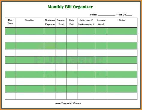 bill ledger template bill pay template monthly bill planner snowball bill pay