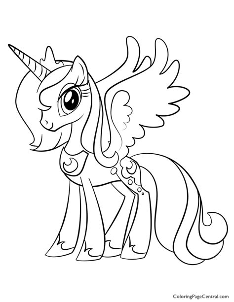 coloring pages princess pony my pony princess 02 coloring page coloring