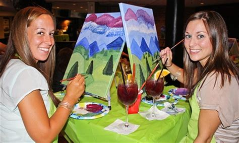 Painting Event At Local Bar Paint Nite Groupon