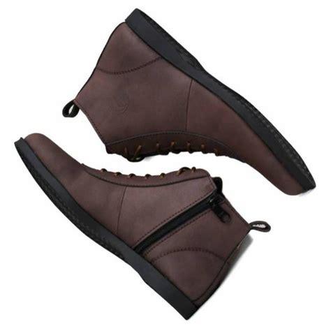 Sepatu D Island Semi Kulit sepatu boots pria klasik semi kulit original shopee