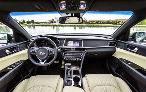 Kia Optima Sxl Interior Kia Optima In Hybrid Una Buena Alternativa Que
