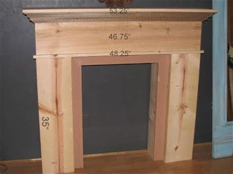 Diy Fireplace Mantels by Diy Faux Fireplace Mantel Shelf Woodworking Projects Plans