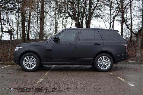 how much is a black range rover matte black range rover vogue reforma uk