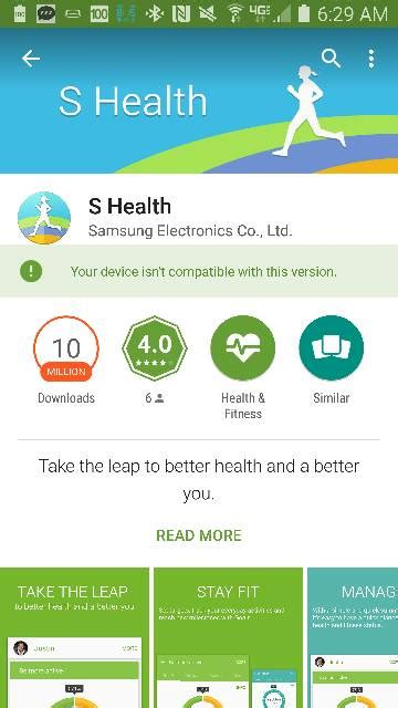 anyone else dislike today s update to the s health app android forums at androidcentral