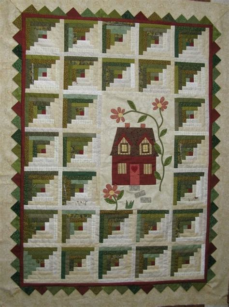 1000 ideas about log cabin quilts on quilting
