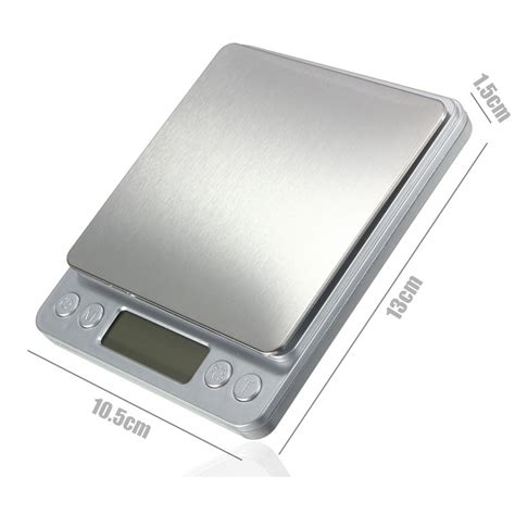Pocket Digital Jewelry Scale High Max 2kg 2000gr 6 Weight daniu 2kg 0 1g stainless steel jewelry digital scale gold silver coin gram pocket alex nld