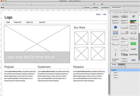 web design mockup exle 37 best wireframing prototyping and mockup tools for web