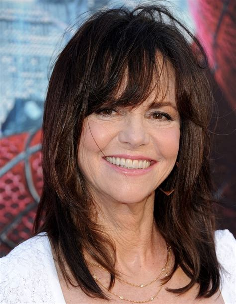photos of sally fields hair sally field medium straight cut with bangs lookbook