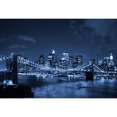 new york wall decor canvas print bridge by