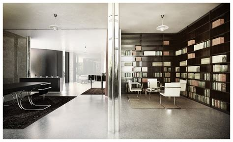 Villa Tugendhat Innen by Villa Tugendhat 3d Recreation By Lasse Rode 3d