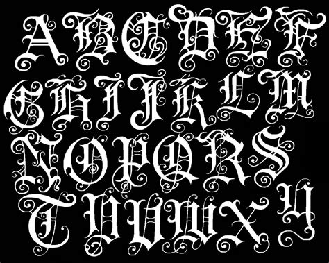 gothic tattoo alphabet gothic fonts gothic darkness pinterest gothic fonts