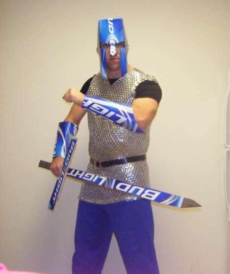 Bud Light Costume by Diy Costume The Bud Light Lol