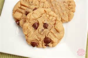 peanut butter chocolate chip cookies recipe dishmaps
