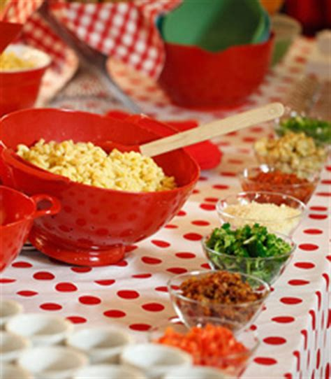 macaroni bar toppings the nibble homemade macaroni and cheese