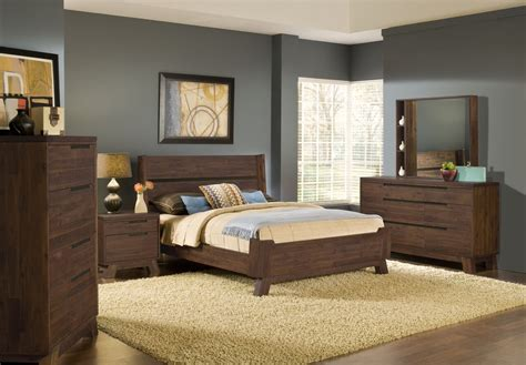 real wood bedroom set 4 piece modus portland solid wood bedroom set