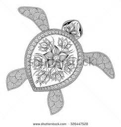 turtle coloring pages for adults turtle stock photos images pictures