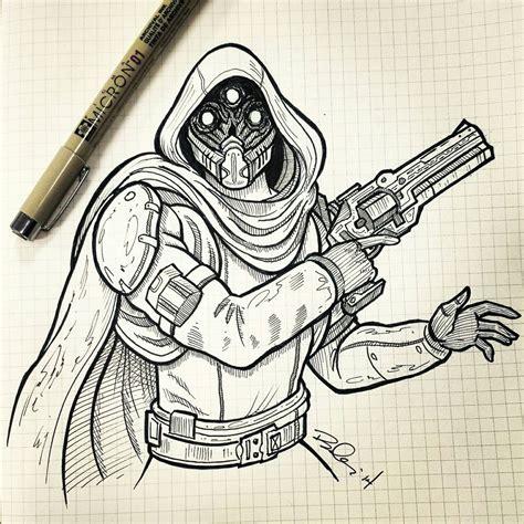 Destiny 2 Sketches from destiny by koboneart on deviantart