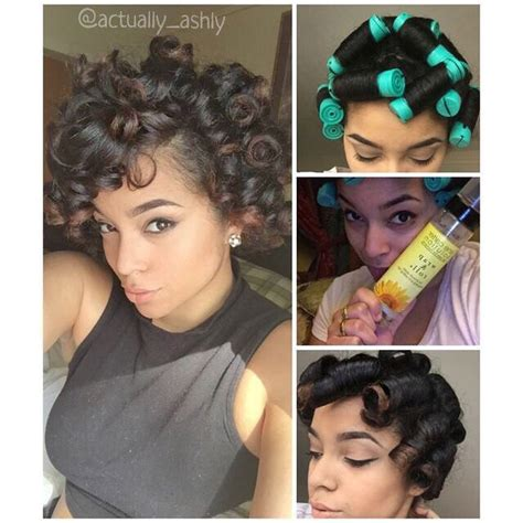 how to do a perm rod set on short relaxed hair 17 best images about perm rods on pinterest natural perm