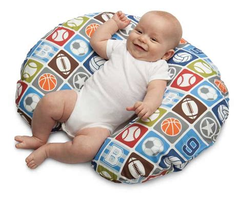 Pillow For 5 Month Baby by Boppy Pillow With Slipcover Sports