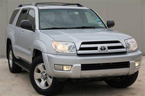 2004 Toyota 4runner Sr5 V6 Sell Used 2004 Toyota 4runner V6 Sr5 4x4 Clean Tx Rust