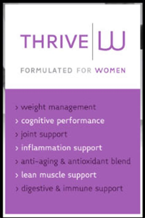 thrive w supplement le vel thrive 8 week experience review weight loss dft