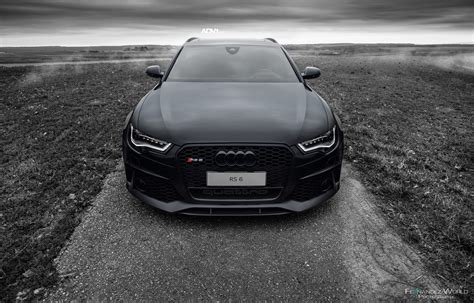 Black Audi RS6 Avant ADV5.2 M.V2 CS ADV.1 Wheels