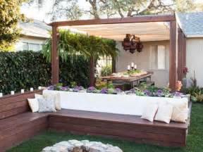 small patio ideas budget: backyard designs on a budget backyard designs on a budget with seat