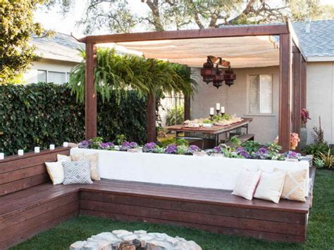 backyard ideas on a budget write