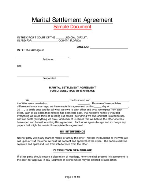 best photos of virginia separation agreement form free